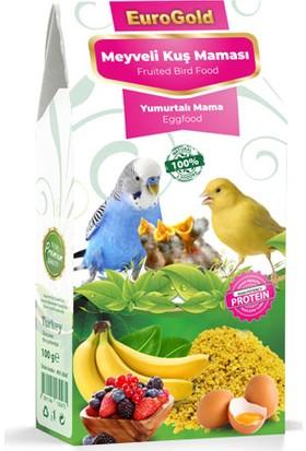 Eurogold Yumurtalı ve Meyveli Kuş Maması 100 g