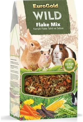 Eurogold Wild Flake Mix Karışık Flake Tahıl ve Sebze 120 g