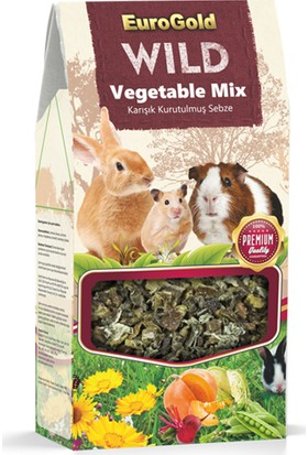 Eurogold Wild Vegetable Mix Kurutulmuş Karışık Sebze 80 g