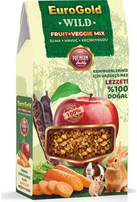 Eurogold Wild Fruit Veggie Mix Kemirgen Yem Katkısı 120 g