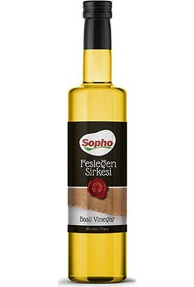 Sopho Basıl Vinegar 500 ml Fesleğen Sirkesi
