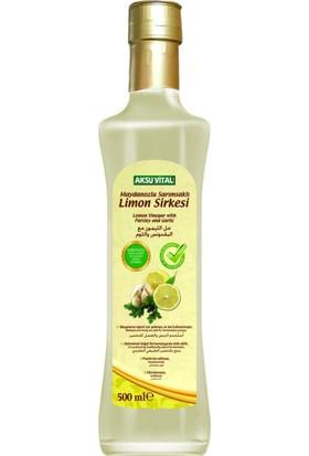 Aksu Vital Maydanozlu Sarımsaklı Limon Sirkesi 500 ml