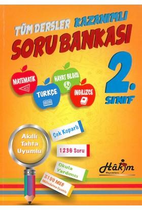 Hakim Yayınları Tüm Dersler Kazanımlı 2. Sınıf Soru Bankası