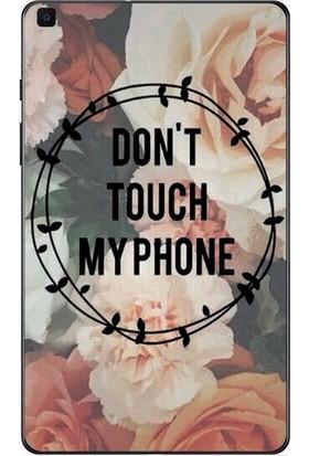 """GoGo Samsung Galaxy Tab A 2019 10.1"""" SM-T510 SM-T517 Gül Desenli Phone Baskılı Silikon Kılıf"""