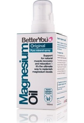 Betteryou Magnesium Oil Original Spray 100 ml