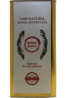 Gross Goztepe Erken Hasat Soğuk Sıkım Zeytinyağı Filtresiz 5 l