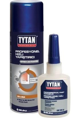 Tytan Professional Hızlı Yapıştırıcı Jel 100 gr + Sprey 400 ml