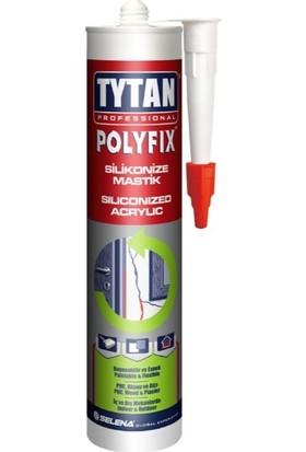 Tytan Professional Polyfix Silikonize Mastik Beyaz 450 gr
