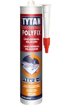 Tytan Professional Polyfix Universal Silikon Siyah 280 gr