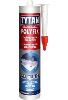 Tytan Professional Polyfix Universal Silikon Beyaz 280 ml