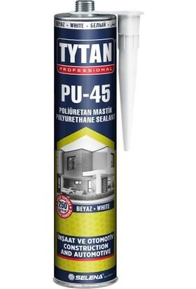 Tytan Professional Pu45 Poliüretan Mastik Beyaz 280 ml