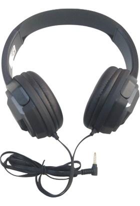 Platoon PL-2380 Extra Bass Tek Jak Oyuncu Kulaklık - Gümüş
