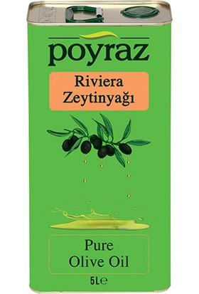 Poyraz Zeytinyağı Riviera 5 l Teneke