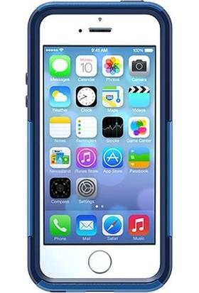 Otterbox Apple iPhone SE/5S/5 Commuter Kılıf - Mavi-Lacivert