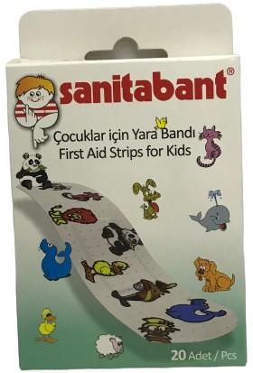 Sanitabant Sanita Bant Çocuk Yara Bandı 20'li