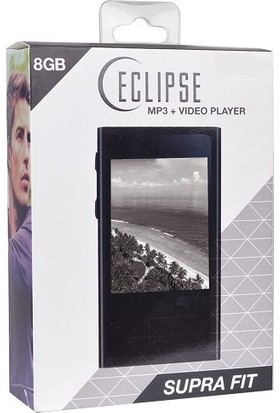 "Eclipse Supra Fıt 8GB 2.8"" LCD Dokunmatik Ekran Kamera/FM Radio Dijital Müzik MP3/MP4 Video Oynatıcı"