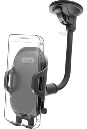 Go-Des GD-HD651 Vantuzlu 360 Derece Dönen Araç İçi Telefon Tutucu