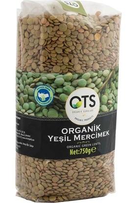 OTS Organik Yeşil Mercimek 750 gr
