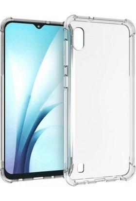 Kılıfreyonum Samsung Galaxy A10 Ultra İnce Şeffaf Airbag Anti Şok Silikon Kılıf Anti Shock Kılıf