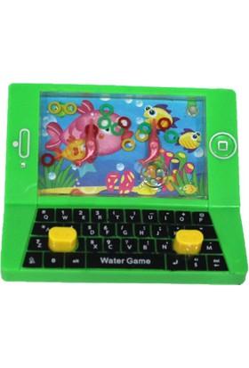 Maker Design Lap Top Bilgisayar Şeklinde 3D Atari Oyuncak - Yeşil