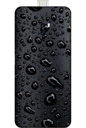 Kapak Olsun Oppo Reno 2Z Black Raın Telefon Kaplaması