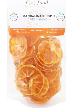 Fx Food Mandalina Kurusu 100 gr