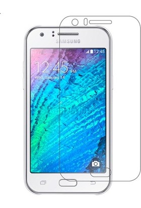 Kralphone Samsung Galaxy J1 Ace J110 Cam Ekran Koruyucu Temperli Şeffaf