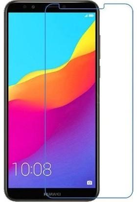 Kralphone Huawei Y9 2018 Cam Ekran Koruyucu Temperli Şeffaf