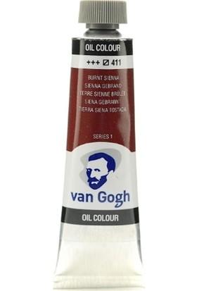 Van Gogh Yağlı Boya 40 ml 411 Burnt Sienna