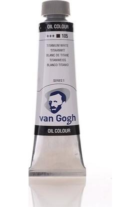 Van Gogh Yağlı Boya 40 ml 105 Titanium White