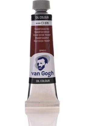 Van Gogh Yağlı Boya 40 ml 378 Transparent Oxide Red
