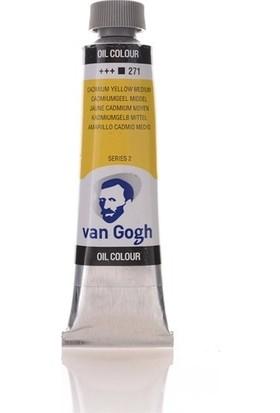 Van Gogh Yağlı Boya 40 ml 271 Cadmium Yellow Medium