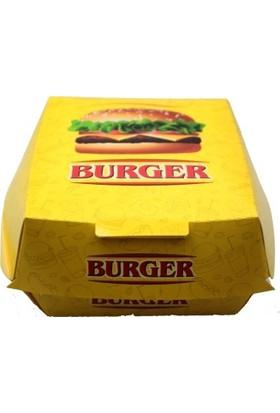 Kutu Dünyası Hamburger Kutusu 400'lü