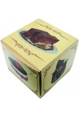 Kutu Dünyası Tek Dilim Pasta Kutusu 100'lü