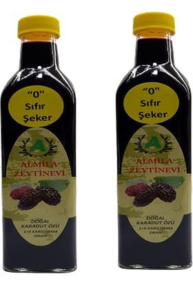 Almila Zeytinevi Şekersiz Karadut Özü 2'li Paket 500 gr x 2