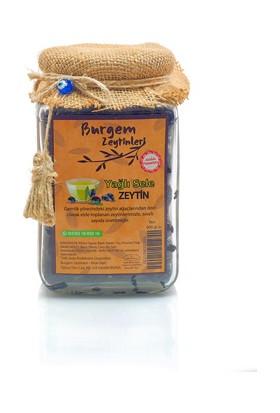 Burgem Zeytinleri Yağlı Sele Siyah Zeytin 600 gr