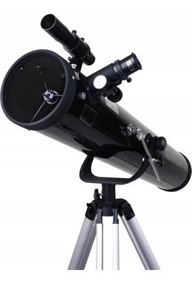 Zoomex 114F900EQ Astronomik Profesyonel Teleskop 600X Büyütme - Eğitici ve Öğretici