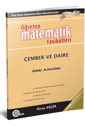 Gür Yayınları 11 Öğreten Fasikülleri Çember-Daire ve Uzay Geometri