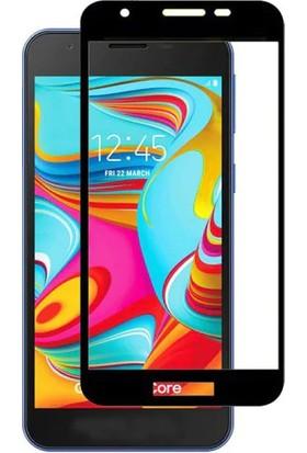 Vision Samsung Galaxy A2 Core 6D Tam Kaplayan Ekran Koruyucu Çerçeveli