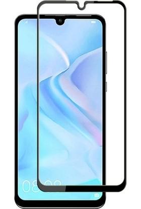 Vision Huawei P30 Lite 6D Tam Kaplayan Ekran Koruyucu Çerçeveli