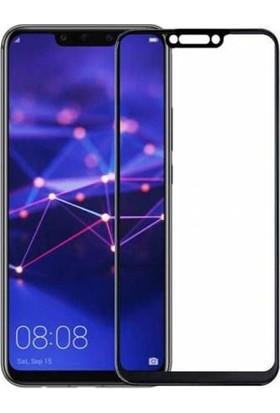 Vision Huawei Mate 20 Lite 6D Tam Kaplayan Ekran Koruyucu Çerçeveli