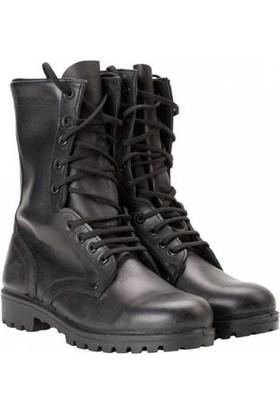 Isiktc Askeri Malzeme Devlet Istihkak Botu, Asker Botu, Siyah Postal, Siyah Deri Bot