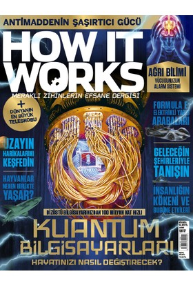 How It Works Yıllık Abonelik (12 Sayı)