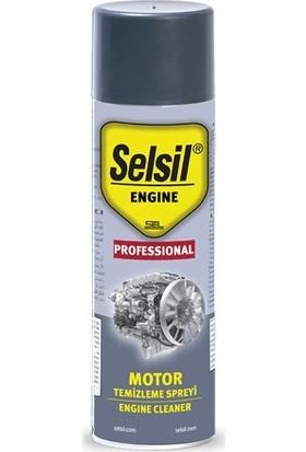 Selsil Susuz Motor Temizleme Spreyi Engine Cleaner 500Ml