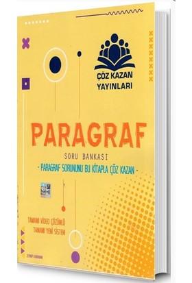 Çöz Kazan Yayınları TYT Paragraf Soru Bankası