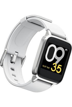 Haylou LS 01 Akıllı Saat - IP68 Suya Dayanıklı - Nabız Takip - iOS&Android Uyumlu - Beyaz