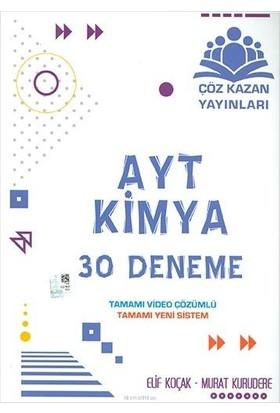 Çöz Kazan Yayınları AYT Kimya 30 lu Deneme Sınavı