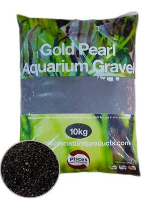 Parlak Siyah Kum 1-2 Mm 10 Kg