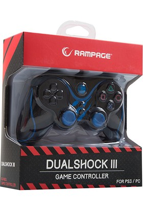 Snopy Rampage Ps3/Pc Mavi Usb 1.8M Joypad
