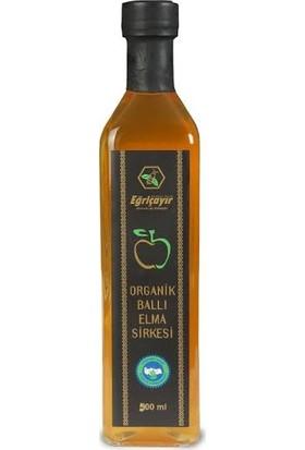 Eğriçayır Organik Ballı Elma Sirkesi 500 ml